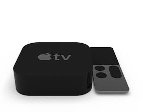 3D asset Apple TV 4K
