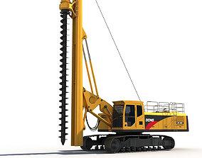 Spiral Drilling Machine heavy 3D model
