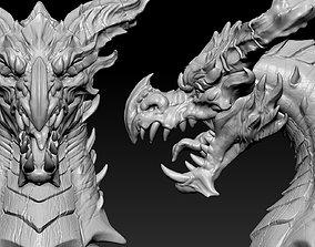 3D print model Dragon Head 03 sculptures
