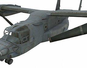 3D asset MV-22 Osprey