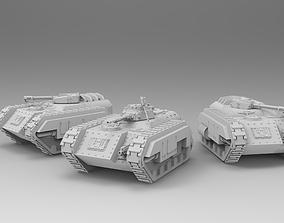 3D print model Roman Legions - Flame Tank