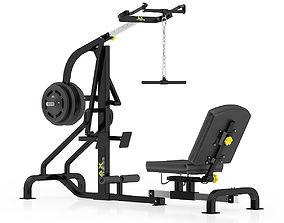 3D model Lever Gym Machine
