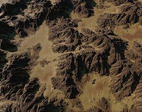 Mountainous Terrain - 8k - Includes Element3d