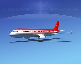 Airbus A320 LP LTU 3D model