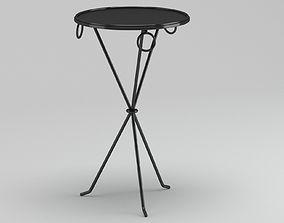 Outdoor Metal Coffee Table 3D