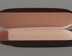 3D model lather Glasses Case