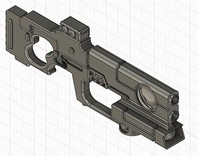 3D Tau Pulse carbine