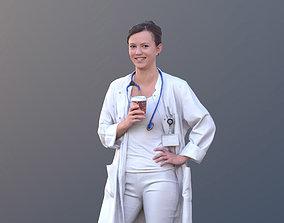 3D asset Nadin 10467 - Standing Healthcare Woman