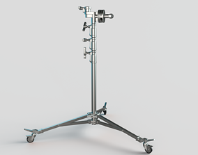 3D Stands - Wheels - Operating Poles Module