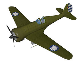 3D Curtiss Wright Model 21