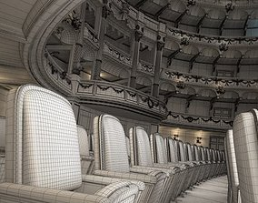3D model Luxury Theater Hall