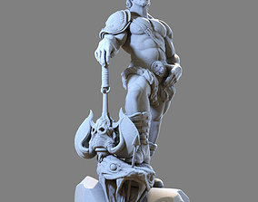 Bronn the warrior 3D printable model