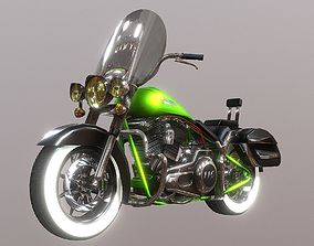 3D model Harkey Davidson CVO Deluxe
