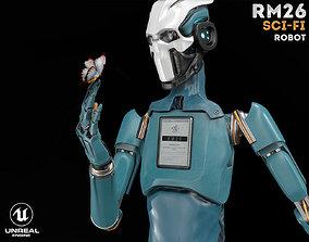 ROBOT RM26 3D asset rigged