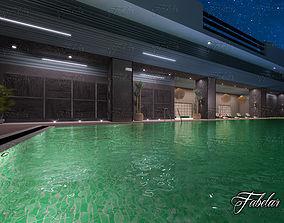 3D Swimming pool swim