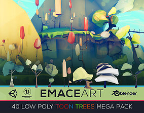 3D model Low Poly Nature Project - Starter Trees Pack 3