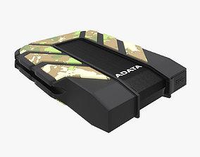 External Harddisk AData HD710M Camouflage 3D model