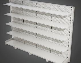 3D asset Commerical Shelf 06 - SAM - PBR Game Ready