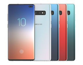Samsung Galaxy S10 Plus All Color 3D