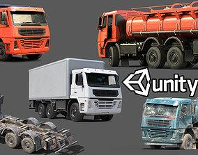 3D asset Truck Vehicle Pack Unity