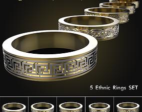 Rings vol 1 Ethnic 3D