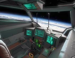 Stingray MKIII Sci Fi Fighter 3D model VR / AR ready
