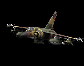 Mirage F-1 Marocco Air Force Scheme bomber 3D