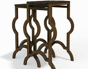 3D Nesting Tables