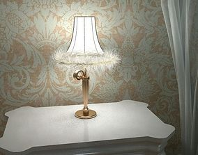 Carlesso Blanche Table Lamp 3D model