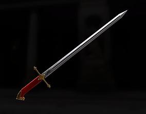 prince sword for practice 3D model