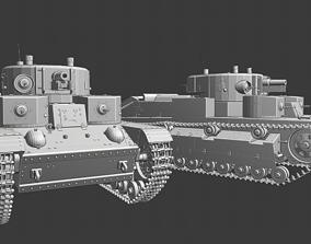 3D print model T 28 Tanks