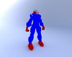 3D model Alien SpaceSuit
