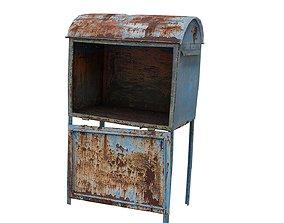 Post Box 01 01 D 3D model