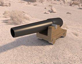 3D model voruz gun