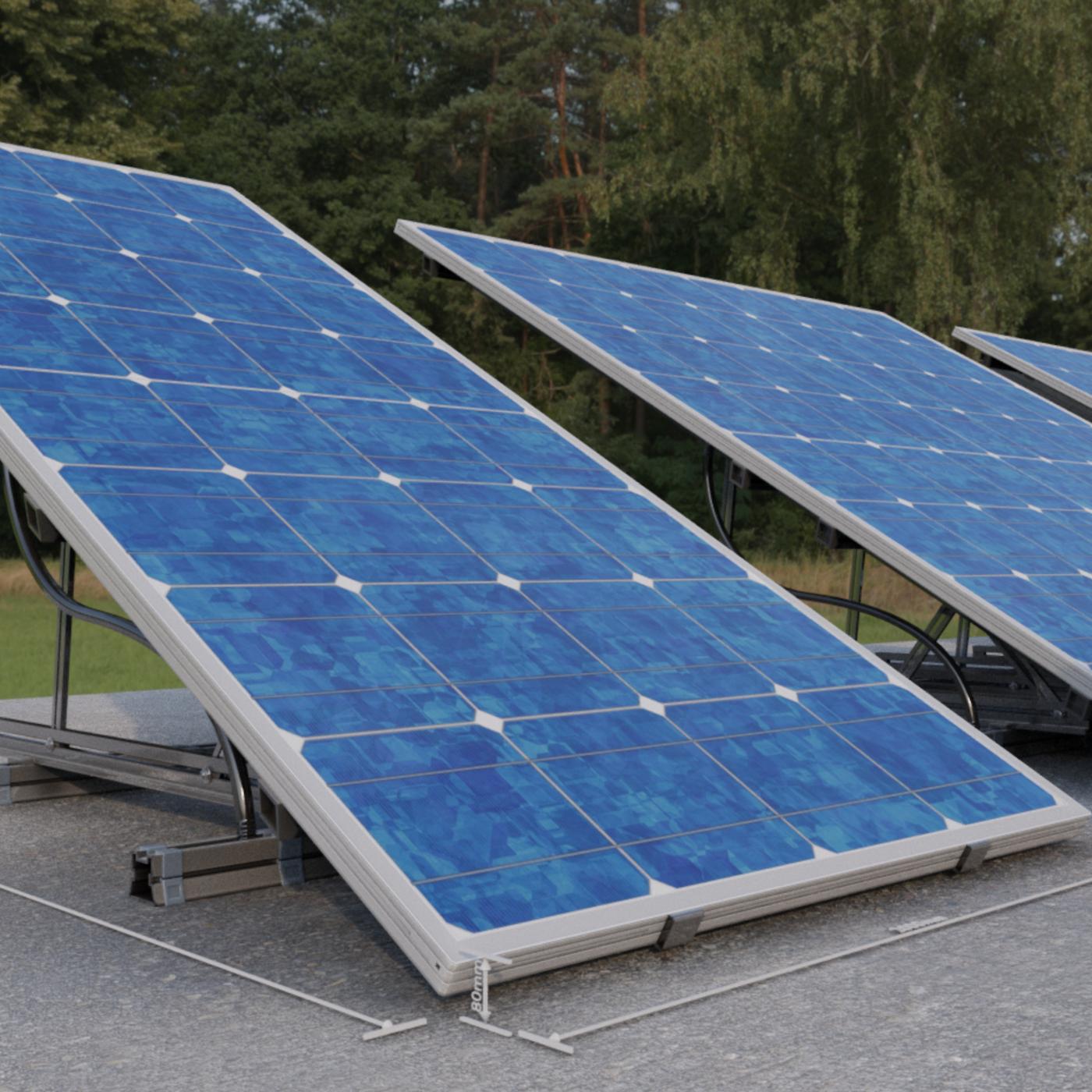 New Solar Panels (Rigged) - Blender-2.93