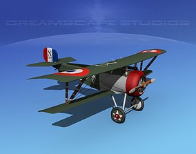 3D model Nieuport 17 V05 France