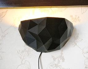 Modern wall light 3D printable model