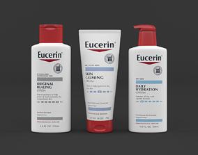 Eucerin Lotion Cream Set 3D model
