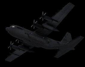 Lockheed C-130 Hercules -Aircraft - 3D Model