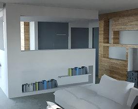 Living Room minimalist 3D