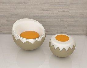 3D printable model Egg chair