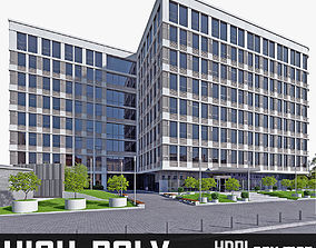 Office Building 01 3D model