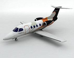 3D asset Embraer Phenom 100 Aircraft