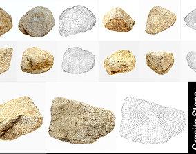 rock 3D Granite Stones