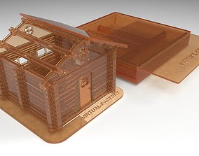 toy Plastic house prefabricated 3d print model
