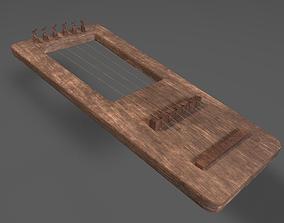 Lute Instrument 3D model
