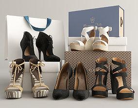 Shoes Set 3D