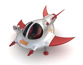 3D Toy space ship 02