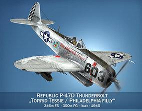 Republic P-47D Thunderbolt - Torrid Tessie 3D