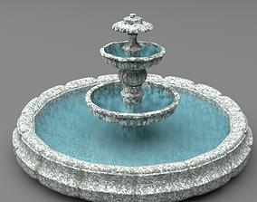 fountain sea 3D model